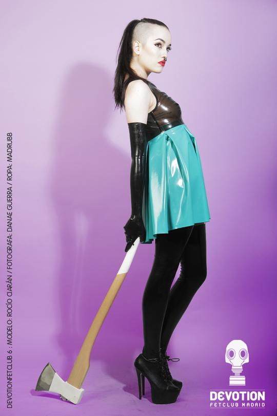Rocío Ciarán, para DevotionFetclub 6, en 2013