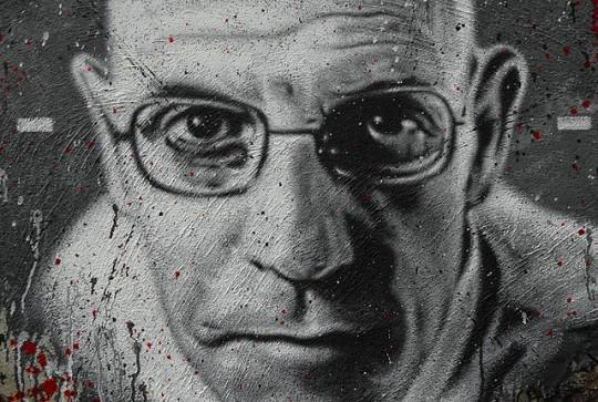 Michel Foucault  https://www.flickr.com/photos/home_of_chaos/2550922674/