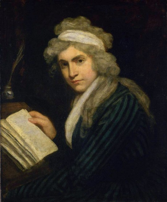 Mary Wollstonecraft  https://en.wikipedia.org/wiki/Mary_Wollstonecraft